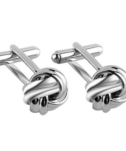 Round Knot Shaped Cufflinks
