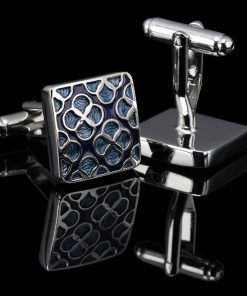 Clover Patterned Cufflinks