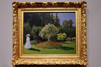 Monet's wife in the garden Photo: Olivia Deng