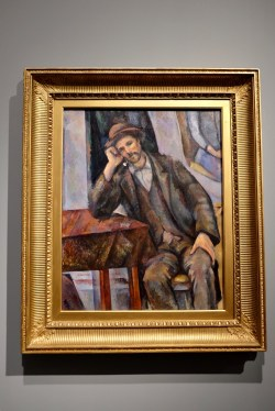 Man Smoking a Pipe by Cézanne Photo: Olivia Deng