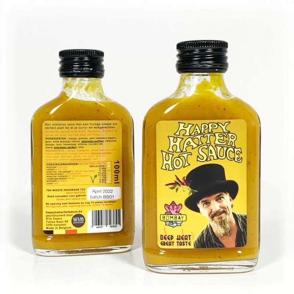 Bombay a Asian style Chilli sauce by happy hatter hot sauce