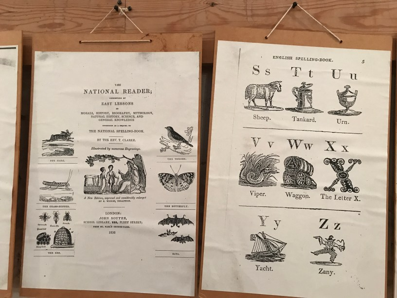 Pages from the three books