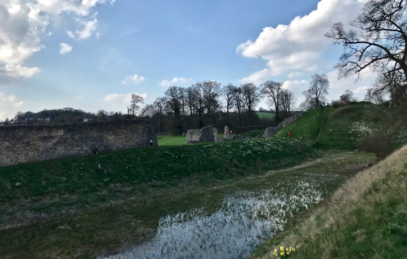 Berkhamsted motte and bailey