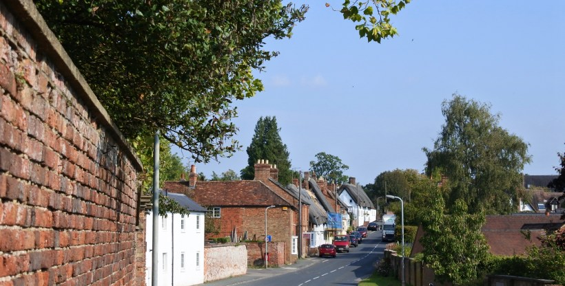 Sheep street in Winslow