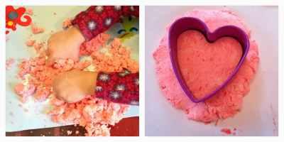 Valentine's Day Playdough : The Chirping Moms