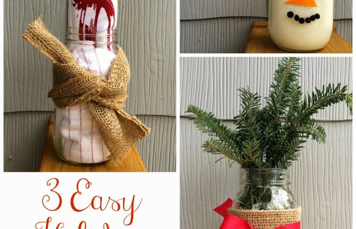 3 Ways to Use a Mason Jar This Christmas