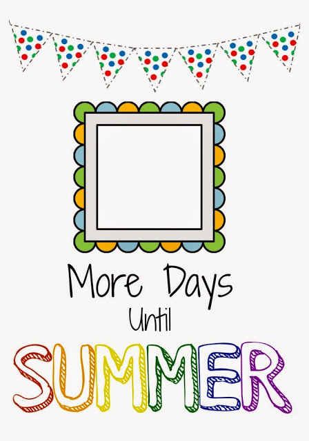 Countdown to Summer (Free Printables)    The Chirping Moms