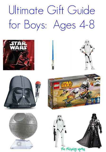 Ultimate Gift Guide for Boys: Ages 4-8 || The Chirping Moms