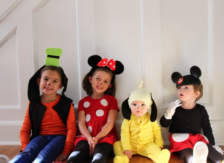 DIY Goofy Costume Pluto Mickey Minnie
