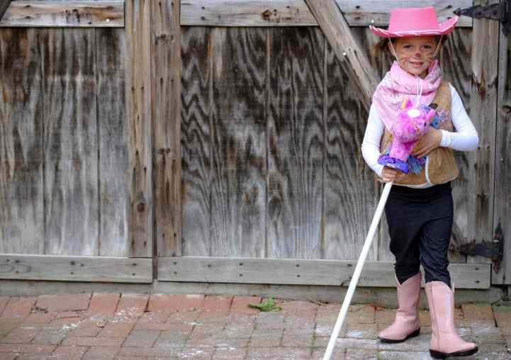 DIY Sheriff Callie Costume