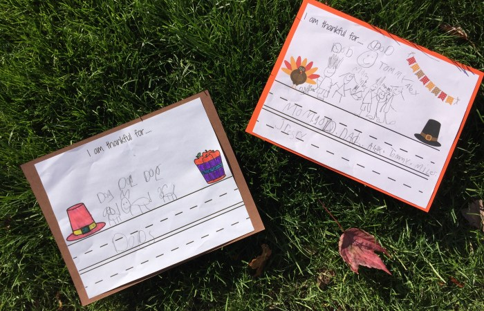 I Am Thankful For…. {Free Printables}