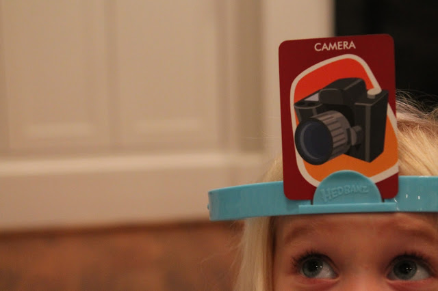 Family Game Night with Hedbanz™ Electronic Game