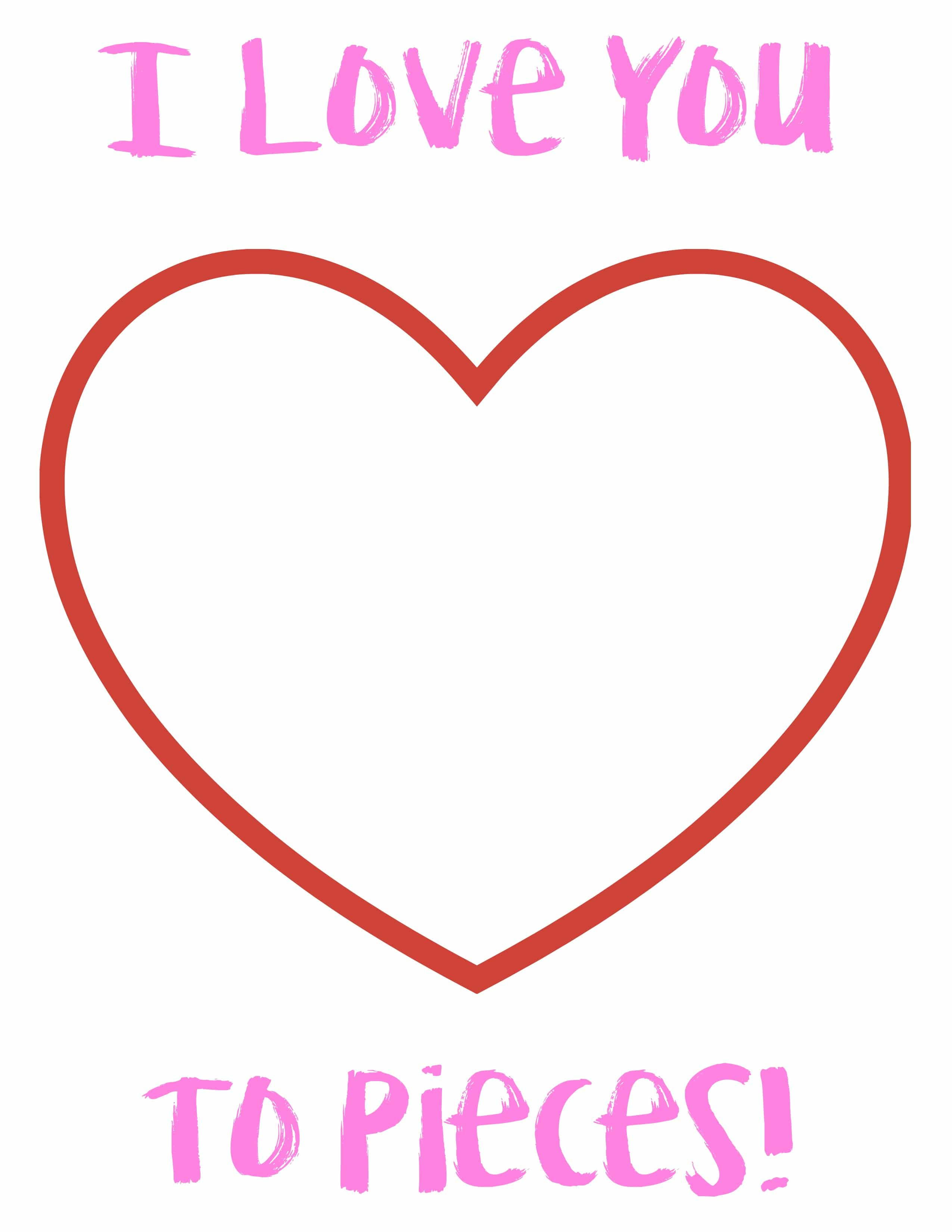 Easy Valentine S Day Craft With Free Printable