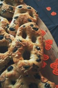 Halloween baking 2016: Spooky Fougasse