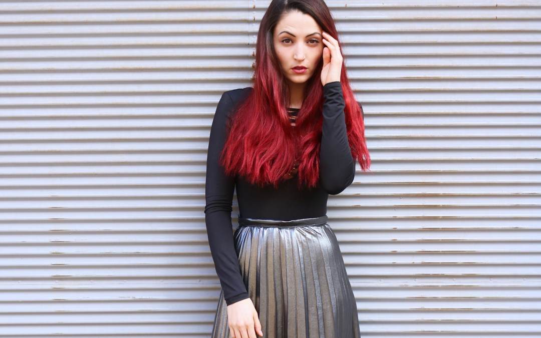 3 ways to wear – pleated skirt