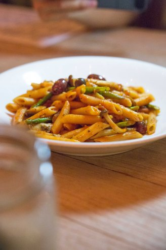 Spicy Penne Arrabiata :: $22