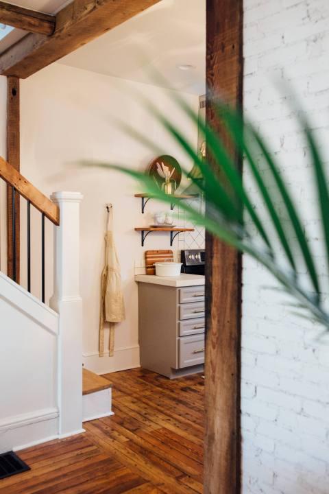Creative Shot of Restored Lancaster Home