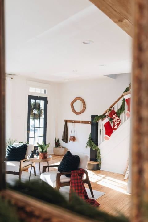 Holiday Inspired Staged Home