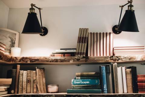 Open Shelves for Books