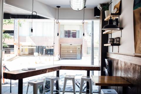 Cafe One Eight Designed by The Chris & Claude Co.