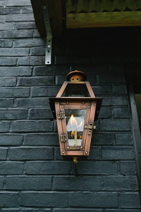 Gas Lantern Lancaster City