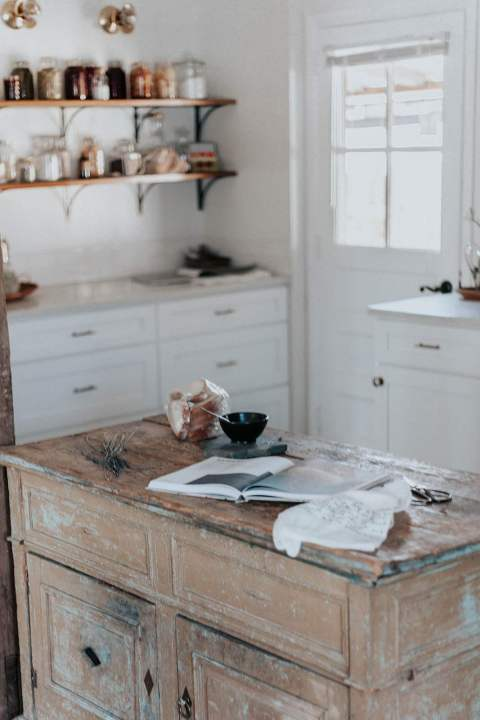 French Cottage Inspired Kitchen