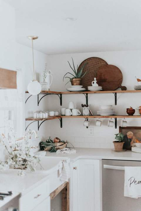 French Cottage Kitchen by The Chris & Claude Co.