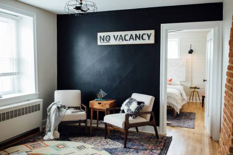 Black Wall in Home Renovation