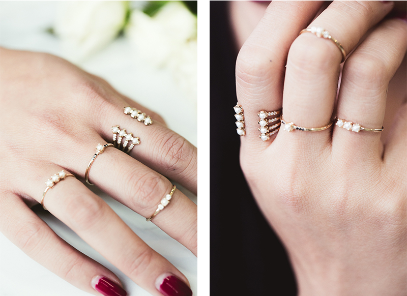 3 Different Ways To Stack Rings