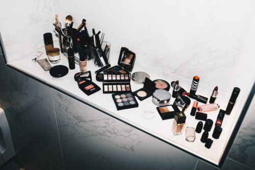 Paris Makeup Shelfie