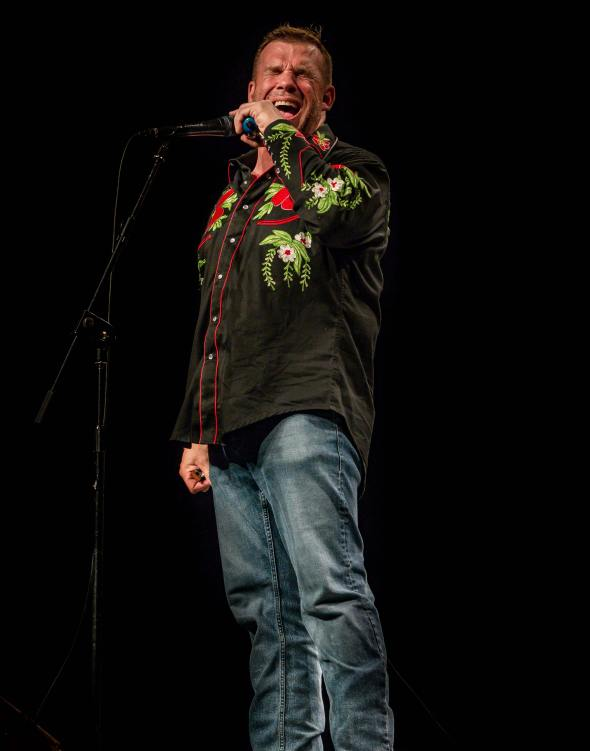 Chris O'Leary in Madrid, Spain