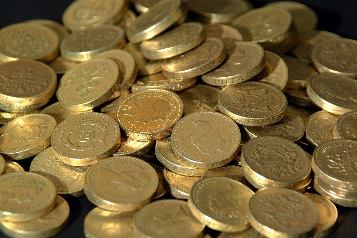 Money Pound coins 4