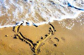 Heart In Sand 1