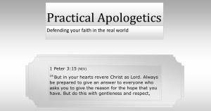Practical Apologetics Graphic