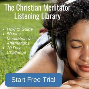christian meditation listening library