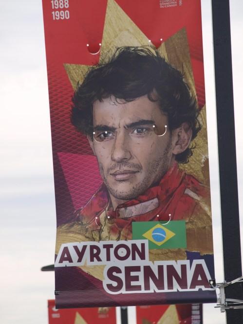 My idol Senna
