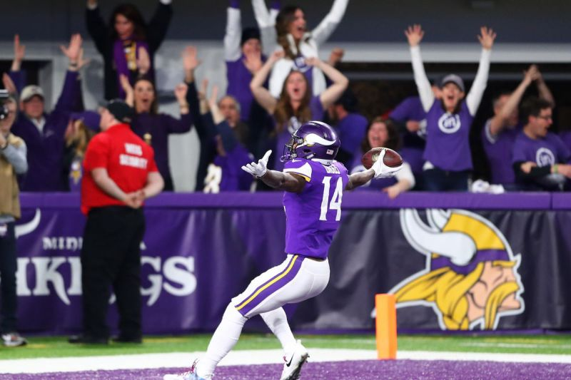 Stefon Diggs Minnesota Miracle