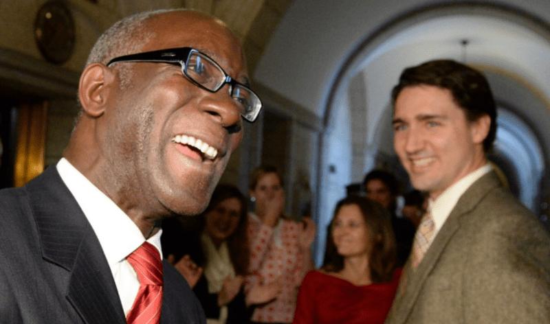 Emmanuel Dubourg et Justin Trudeau
