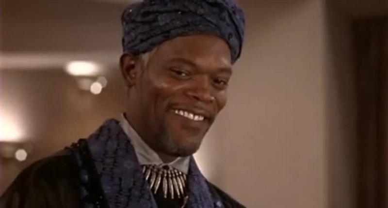 The Sultan Samuel L. Jackson