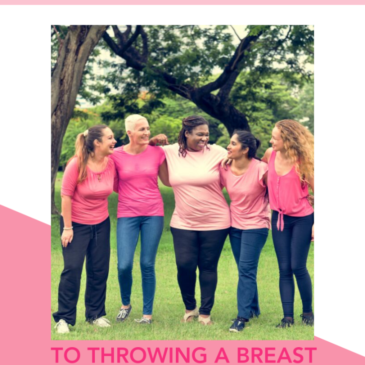 breast cancer shower guide