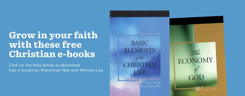 free books from living stream ministry