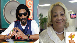 """""""Snoop Dogg now Snoop Lion and Mom Beverly"""""""