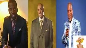 """Bishop Paul Morton, Bishop Steven B. Hall and Craig l Davis"