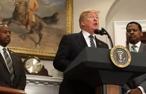 Donald Trump's 'racist slur' provokes outrage