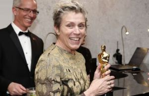 He Tried It: Man Arrested For Stealing Frances McDormand's Oscar And Bragging About It On Facebook