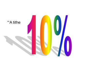 10% 'A tithe