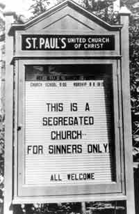 A Church For Sinners Only