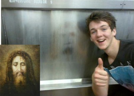 Image of Jesus appears on Penrith toilet