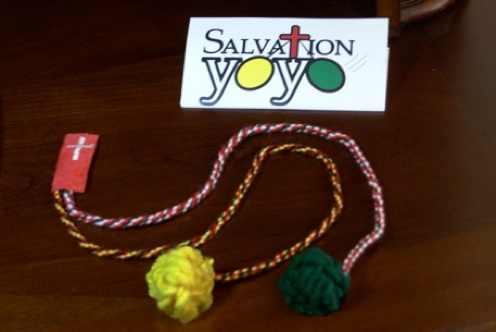 Salvation YoYo - Not to be confused with a Christian Yo Yo... or a normal yo yo...