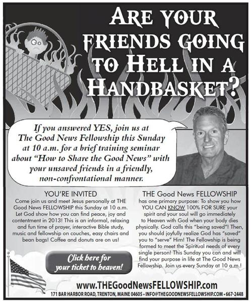 Are Your Friends Going To Hell in a Handbasket?